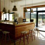 BLR International - espace de remise en forme privé - bar / cuisine