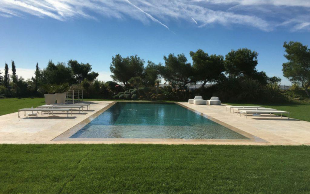 BLR International - villa contemporaine - piscine